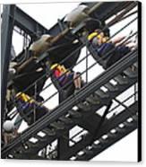 Six Flags Great Adventure - Medusa Roller Coaster - 12123 Canvas Print