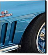 Sixty Six Corvette Roadster Canvas Print