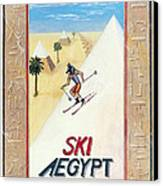 Ski Aegypt Canvas Print by Richard Deurer