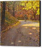 Skippers Autumn Canvas Print by Terry Perham