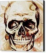 Skull Canvas Print by Anastasiya Malakhova