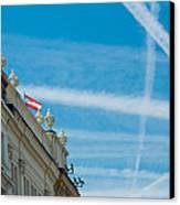 Sky Crossroads Canvas Print by Viacheslav Savitskiy