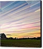 Sky Matrix Canvas Print by Matt Molloy