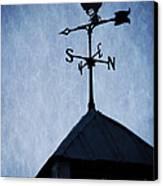 Skyfall Deer Weathervane  Canvas Print by Edward Fielding