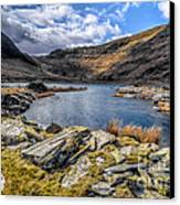 Slate Valley Canvas Print