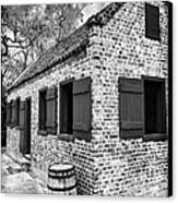 Slave House Canvas Print by John Rizzuto