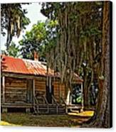 Slave Quarters Canvas Print by Steve Harrington