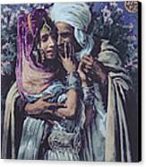 Slave To Love Canvas Print by Alphonse Etienne Dinet