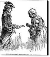 Slavery: Manumission, 1777 Canvas Print by Granger