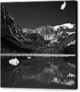 Slough Lake 3 Bw Canvas Print by Roger Snyder