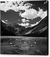 Slough Lake 5 Bw Canvas Print by Roger Snyder