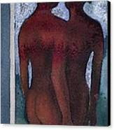 Small Blue Mirror Canvas Print by Graham Dean