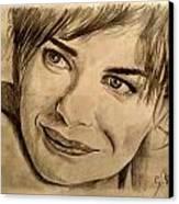 Smile Canvas Print by Soumya Bouchachi