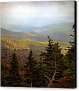Smokey Mountain High Canvas Print by Karen Wiles