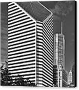 Smurfit-stone Chicago - Now Crain Communications Building Canvas Print by Christine Till