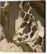 Snadstone Rock Formations In Big Sur Canvas Print
