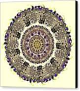 Snake Mandala Canvas Print