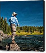 Snake River Cast Canvas Print