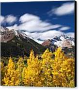 Sneffels Winds Canvas Print by Darren  White
