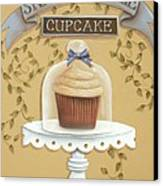Snickerdoodle Cupcake Canvas Print by Catherine Holman