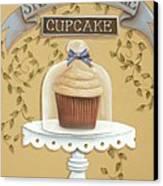 Snickerdoodle Cupcake Canvas Print