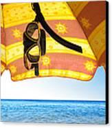 Snorkeling Glasses Canvas Print by Carlos Caetano