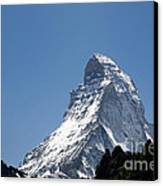 Snow-capped Mountain Canvas Print by Mats Silvan