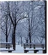 Snow Day Canvas Print by Richie Stewart