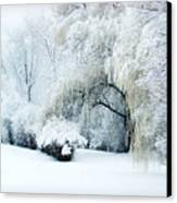 Snow Dream Canvas Print by Julie Palencia