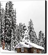 Snow House- Gulmarg- Kashmir- India- Viator's Agonism Canvas Print