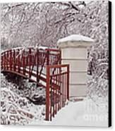 Snow Way Or No Way Canvas Print by Irfan Gillani