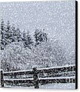 Snowstorm Coming Canvas Print by Beverly Guilliams