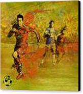 Soccer  Canvas Print by Corporate Art Task Force