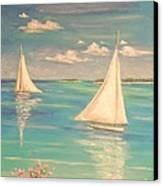 Soft Breeze Canvas Print by The Beach  Dreamer