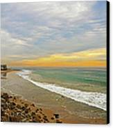 Soft Colors On The Coast Canvas Print by Lynn Bauer