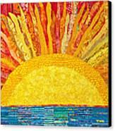 Solar Rhythms Canvas Print by Susan Rienzo
