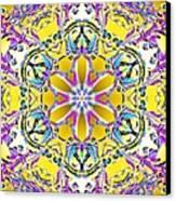 Solar Sunstar Canvas Print by Derek Gedney