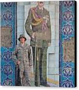 Soldier To Sedam Canvas Print by Sharla Fossen