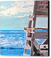 Solitude Canvas Print by Beth Saffer
