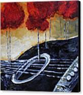 Song Of Seasons II Canvas Print by Vickie Warner