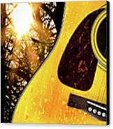 Songs From The Wood Canvas Print by Bob Orsillo