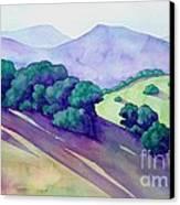 Sonoma Hills Canvas Print by Robert Hooper