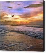 Soothing Sunrise Canvas Print by Betsy Knapp