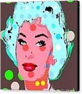 Sophia Loren Canvas Print by Ricky Sencion