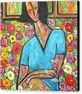 Sophies Letter Canvas Print by Chaline Ouellet