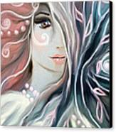 Soul Confessions Canvas Print by Hilda Lechuga