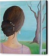 Southern Belle Canvas Print by Glenda Barrett