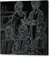 Southern Church Canvas Print