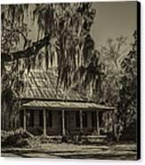 Southern Comfort Antique Canvas Print by Debra and Dave Vanderlaan