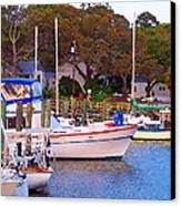 Southport Watercolor Canvas Print